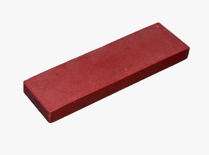 Polishing Stone - Jewellers, Red, Fine