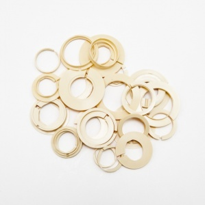 Plastic Movement Rings, Assortment of 25