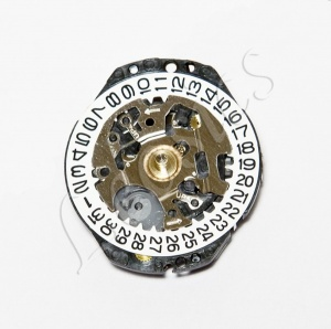 Seiko 7N82 Quartz Watch Movement, Hand Height 1