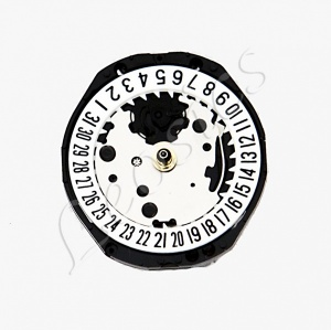 Seiko PC22 Quartz Watch Movement Date at 6