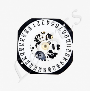 Seiko VX32.2 Quartz Watch Movement, Date at 6
