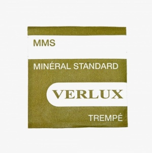 Verlux Flat Mineral Watch Glass, 1mm, 18.0 to 35.0mm