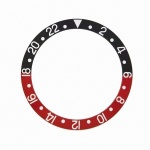 Generic Bezel Insert RLX 16760, 16710, Red and Black