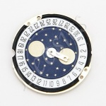 Ronda 788 Quartz Watch Movement, Date at 6, Moonphase at 12