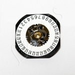 Seiko 7N32 Quartz Watch Movement, Date at 6, Hand Height 1